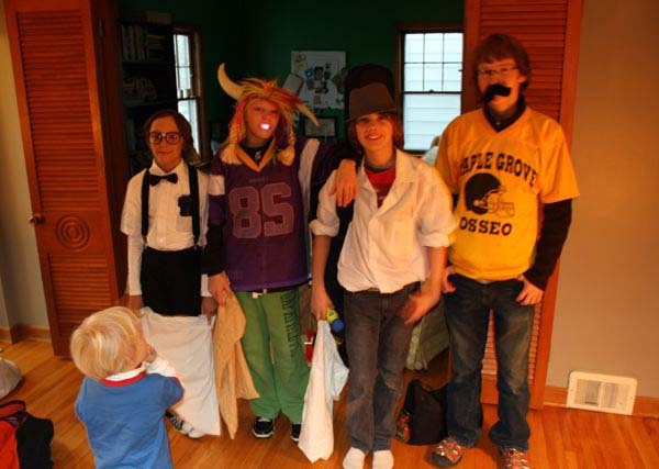 boys halloween | the both and | shorts and longs | julie rybarczyk