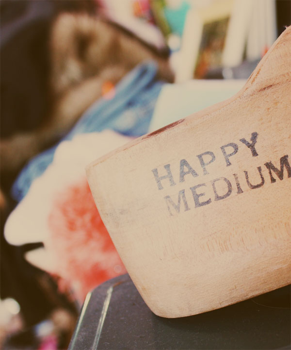 happy medium mess 1 | the both and | shorts and longs | julie rybarczyk