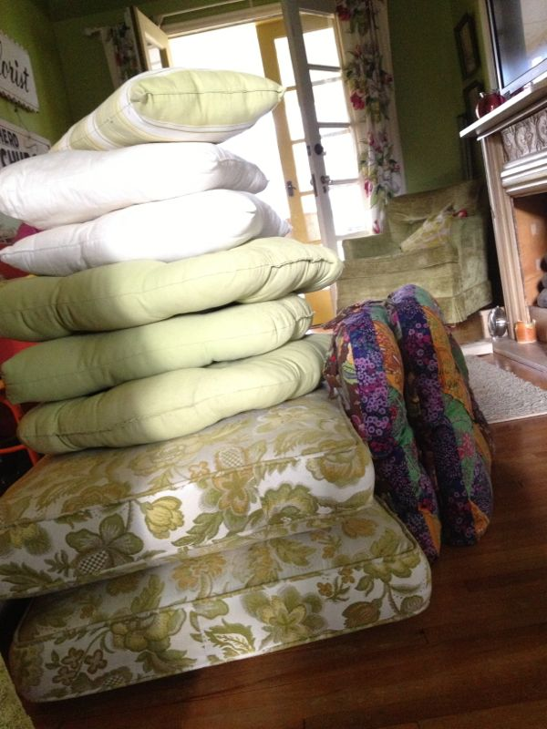 screen porch cushions - shorts and longs - julie rybarczyk2