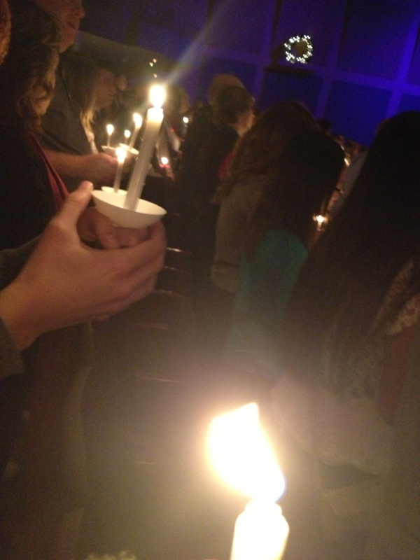 candlelight services - shorts and longs - julie rybarczyk