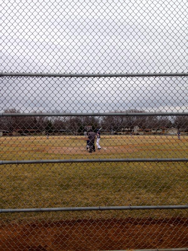 baseball field - shorts and longs - julie rybarczyk