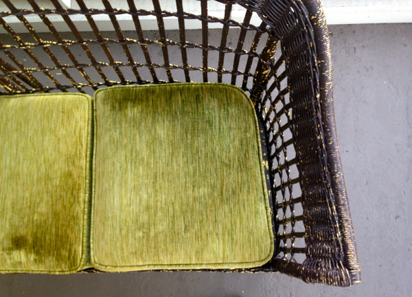 screen porch wicker couch - shorts and longs - julie rybarczyk4