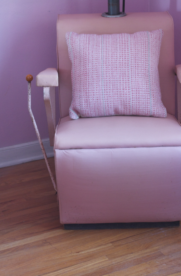 helene curtis pink beauty salon chair - shorts and longs - julie rybarczyk 21