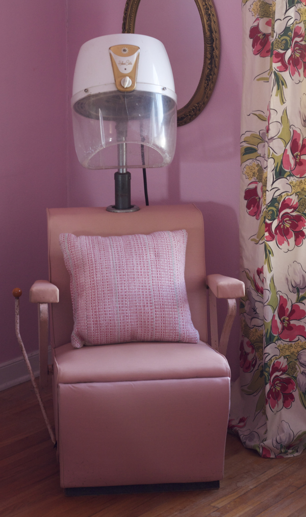 helene curtis pink beauty salon chair - shorts and longs - julie rybarczyk 23