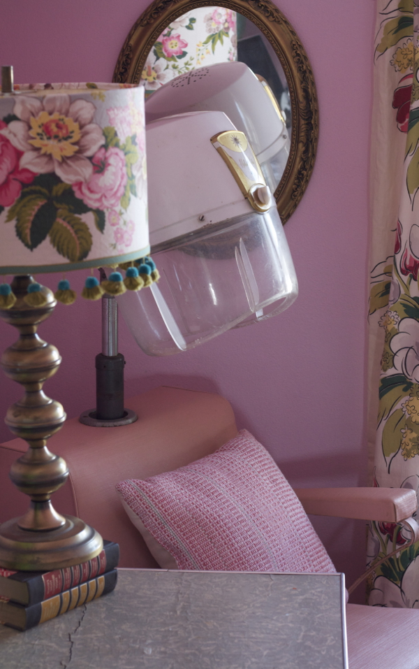 helene curtis pink beauty salon chair - shorts and longs - julie rybarczyk7