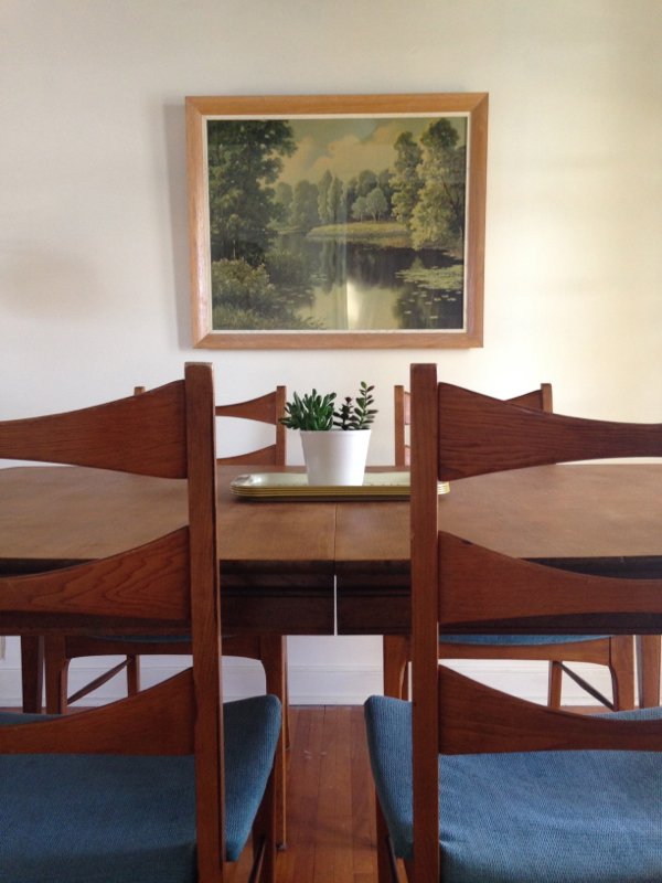 shorts and longs - julie rybarczyk - mid-century modern dining set1